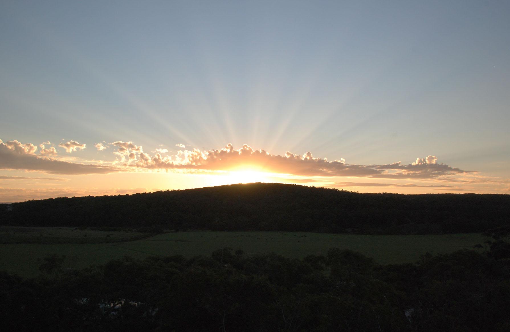 Sunrise over Fairhaven