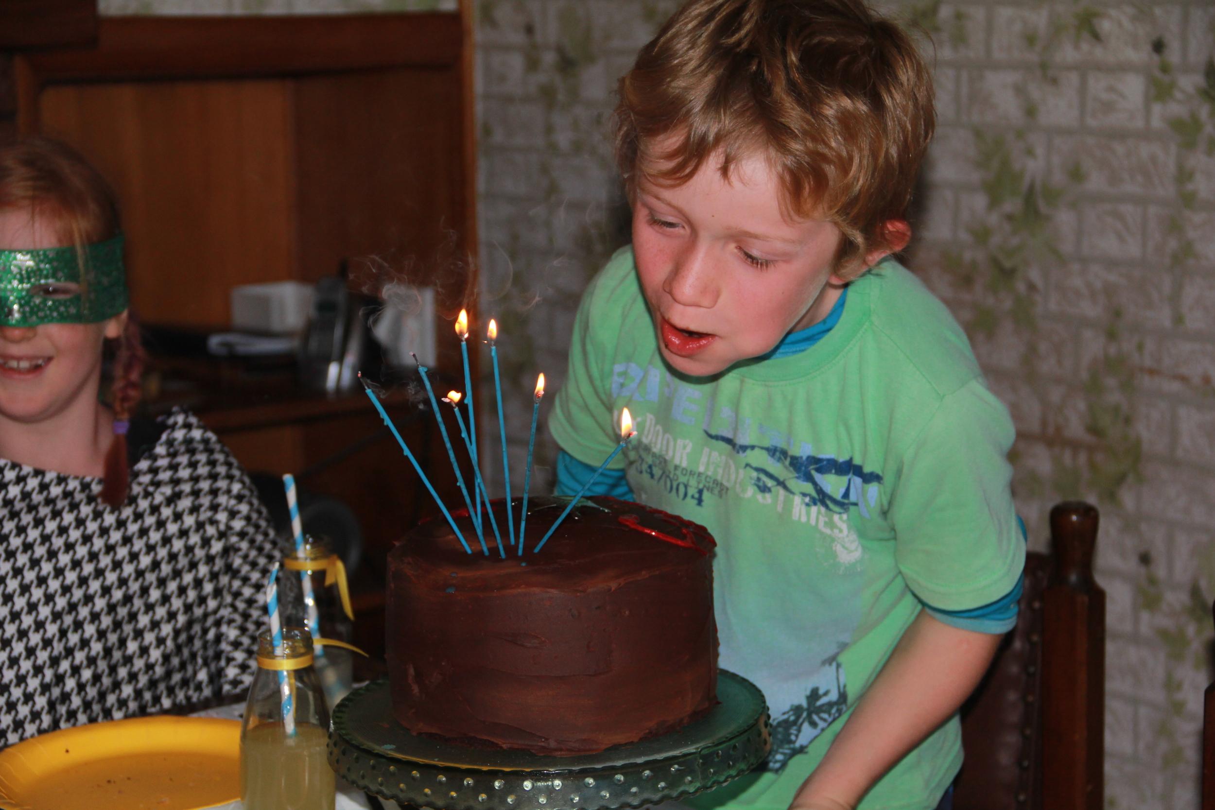 156:365 24-8-14 Magic candles