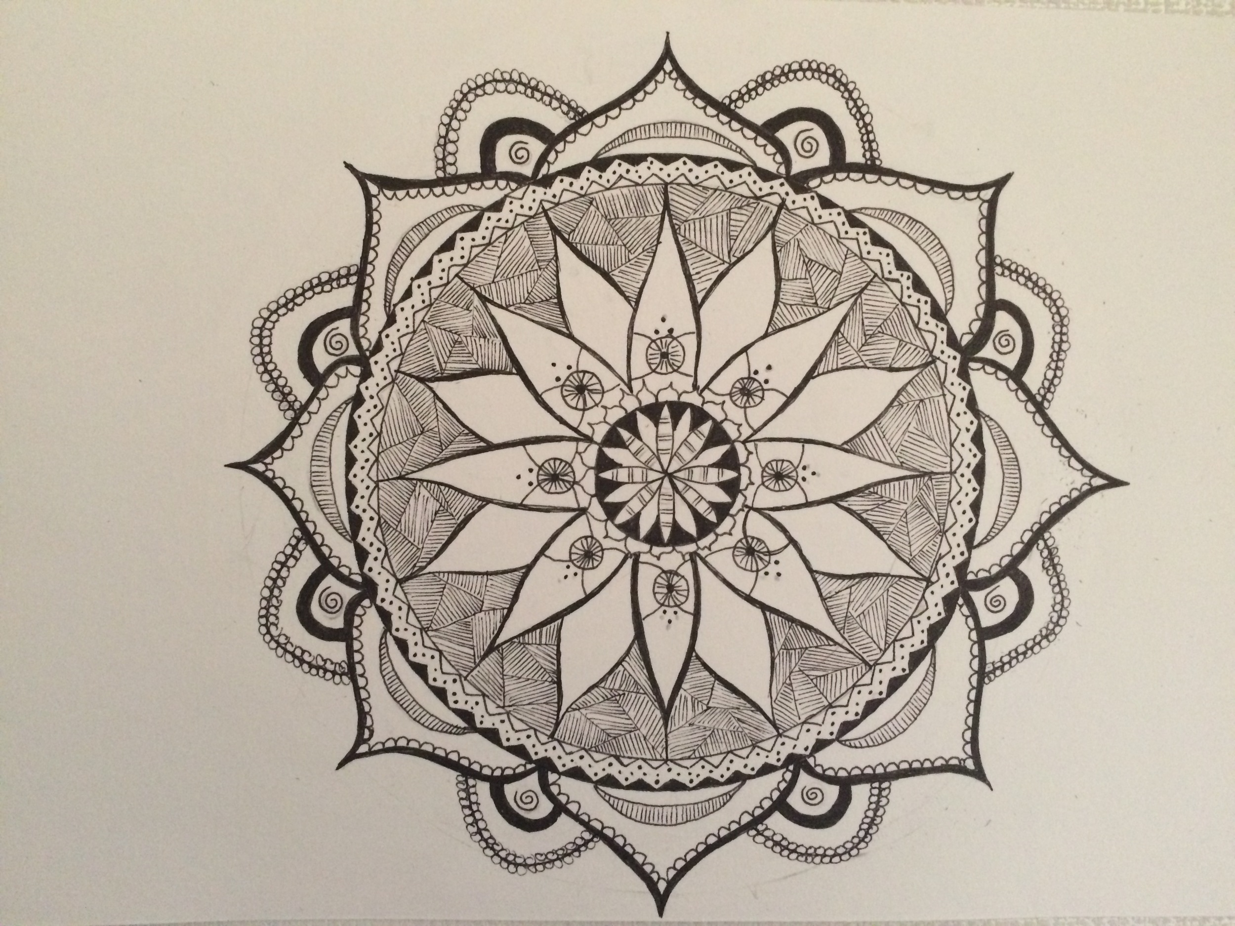 Day 3 - still haven't got to colour, but digging the black and white!