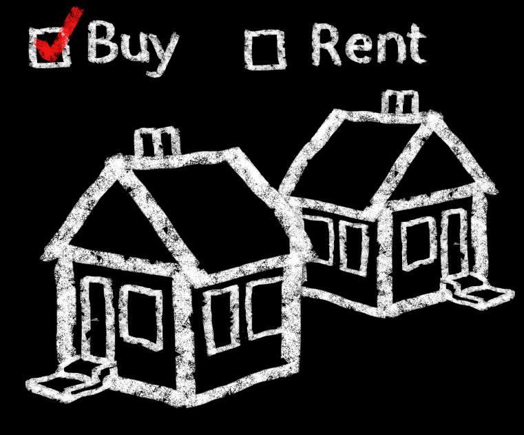 The debate of whether to buy or rent is a hotly debated topic.
