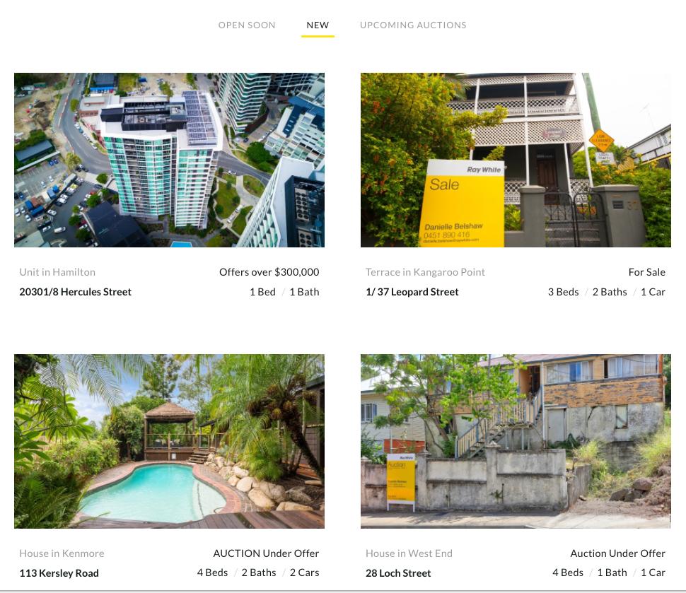 Image: Ray White City Precinct Brisbane Homepage