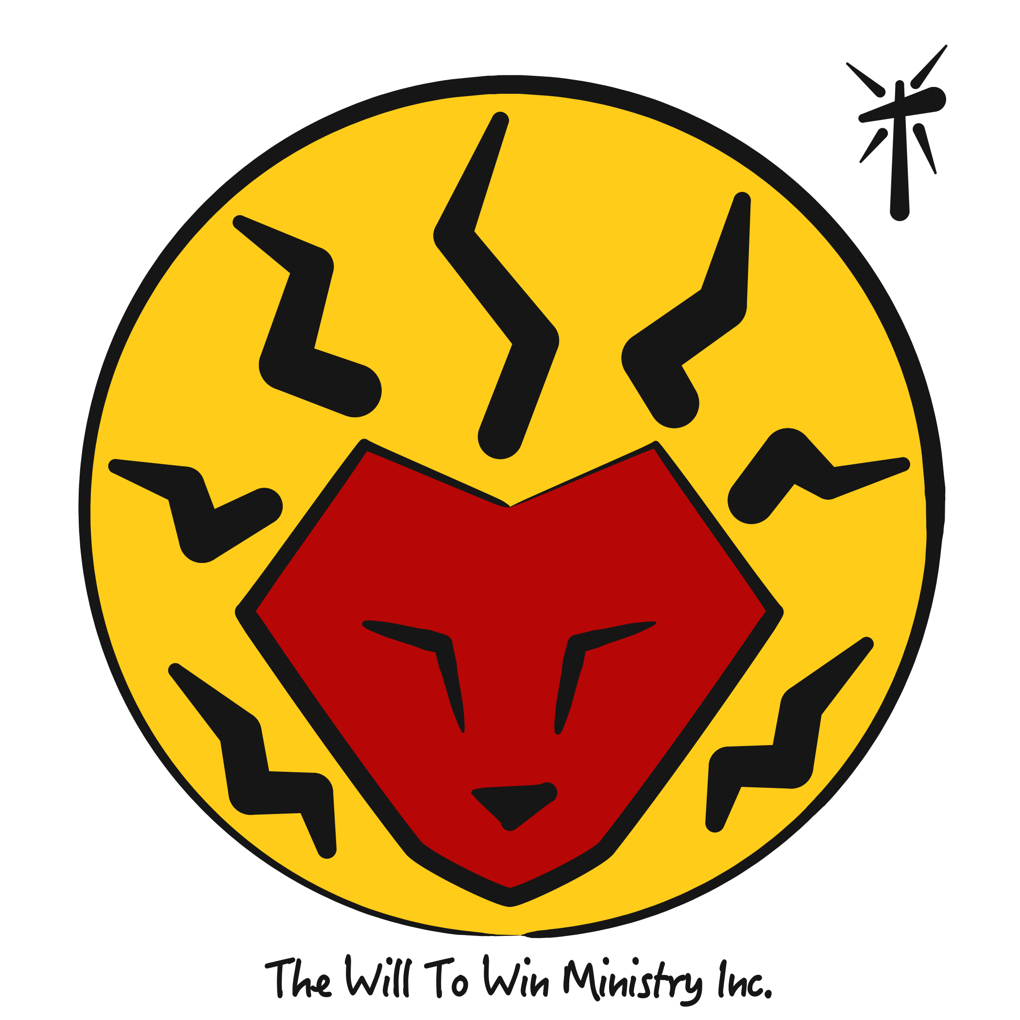 Logo | The WIll To Win Min (Black on White BG).png