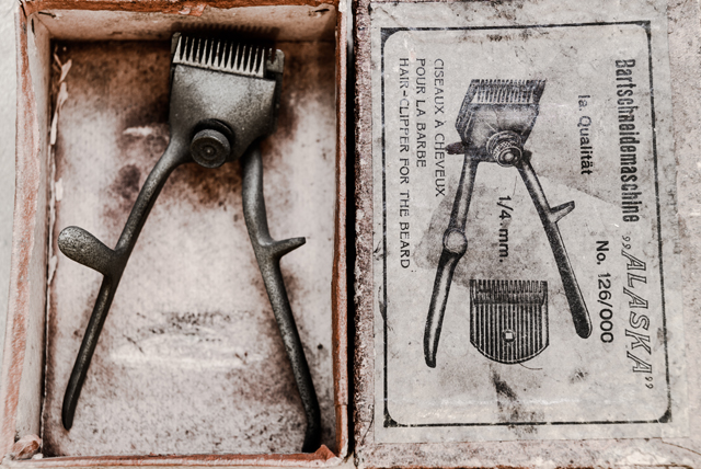 Barbering tools; words: Barry the Barber; photos: Hanson Leatherby.