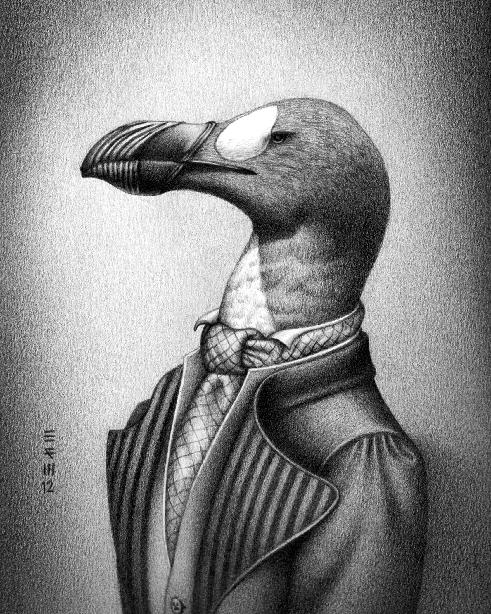 Great auk: extinct 1844