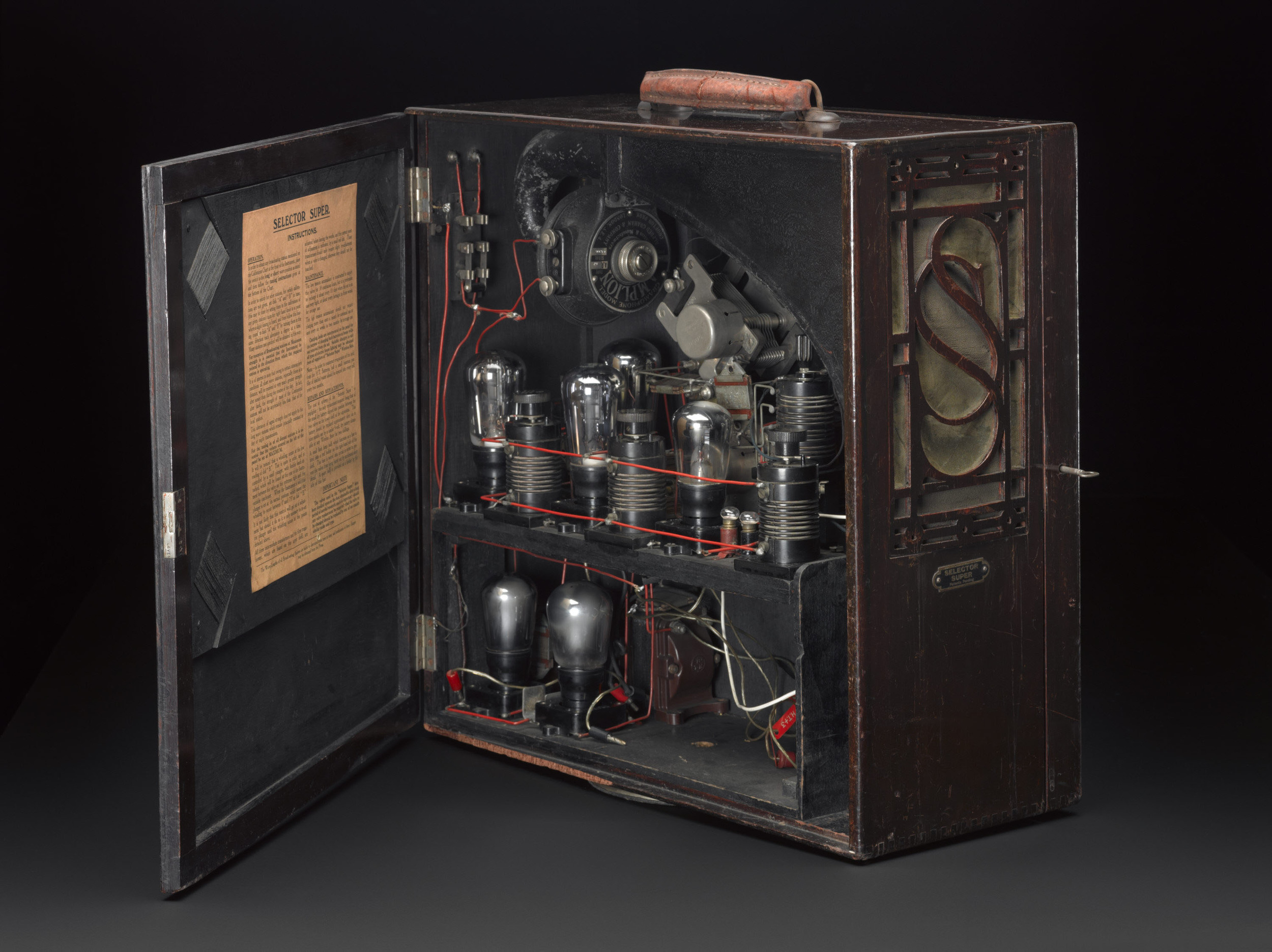 The portable super selector before conservation (Source: Science Museum / SSPL)