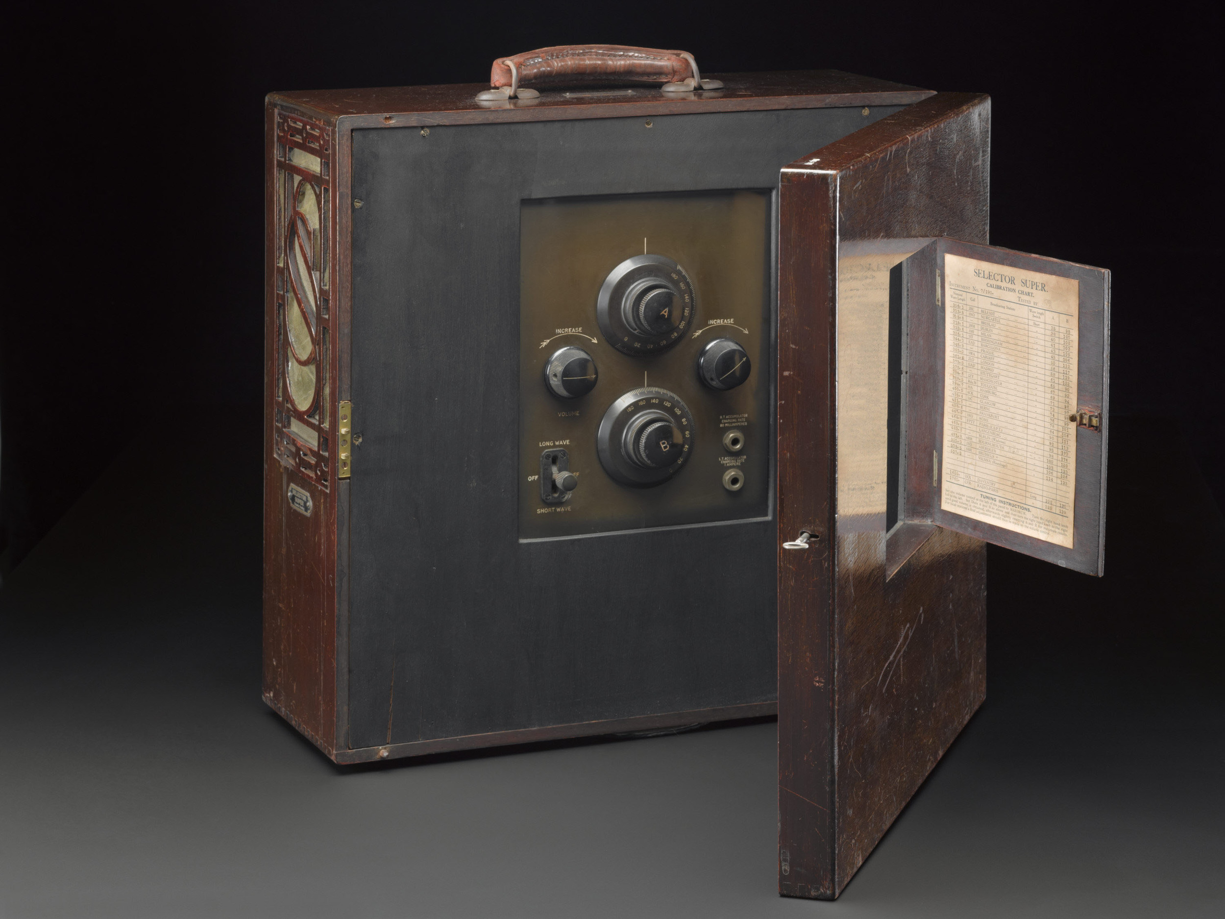 The radio is now fully conserved and radio for display in Information Age when it opens this autumn. (Source: Science Museum / SSPL)