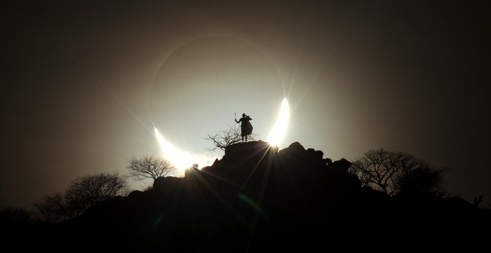 People and Space winner:Hybrid Solar Eclipse 2 by Eugen Kamenew (Germany)