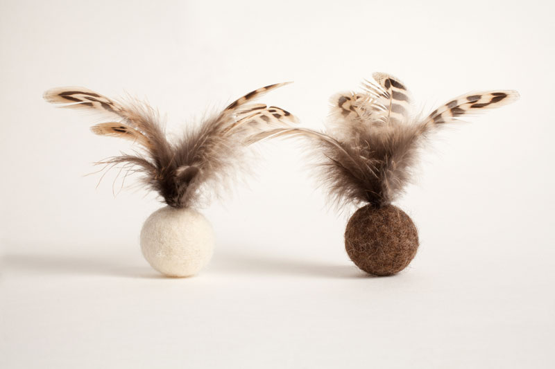 Blizzard Feather Balls,  £4.50 each