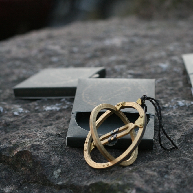Pocket Sundial  Taking influence from historic sailors and mathematicians, this functional pocket sundial is handmade in Austria.  £45