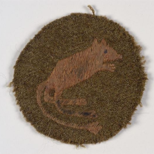 IWM Desert Rat Badge INS 5114