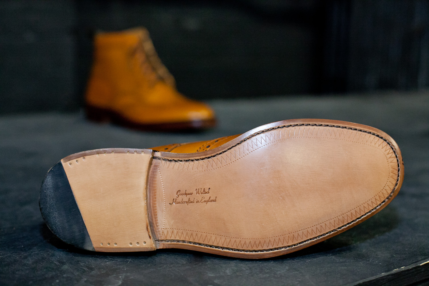 The Goodyear welt is the oldest and most labour intensive method of shoemaking in the world