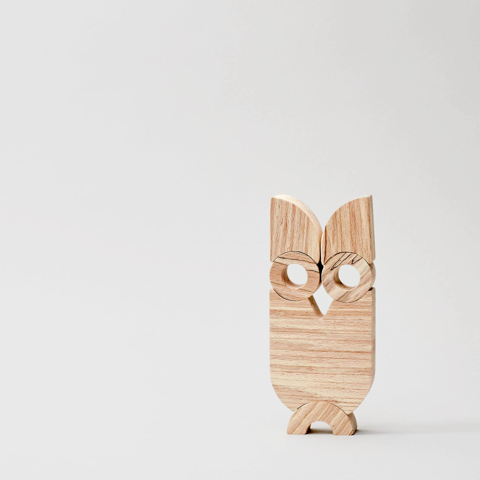 Wooden Owl Toy   This stackable owl is skillfully designed and beautifully made by Saturday Workshop in Dublin. For children big and small.  £30