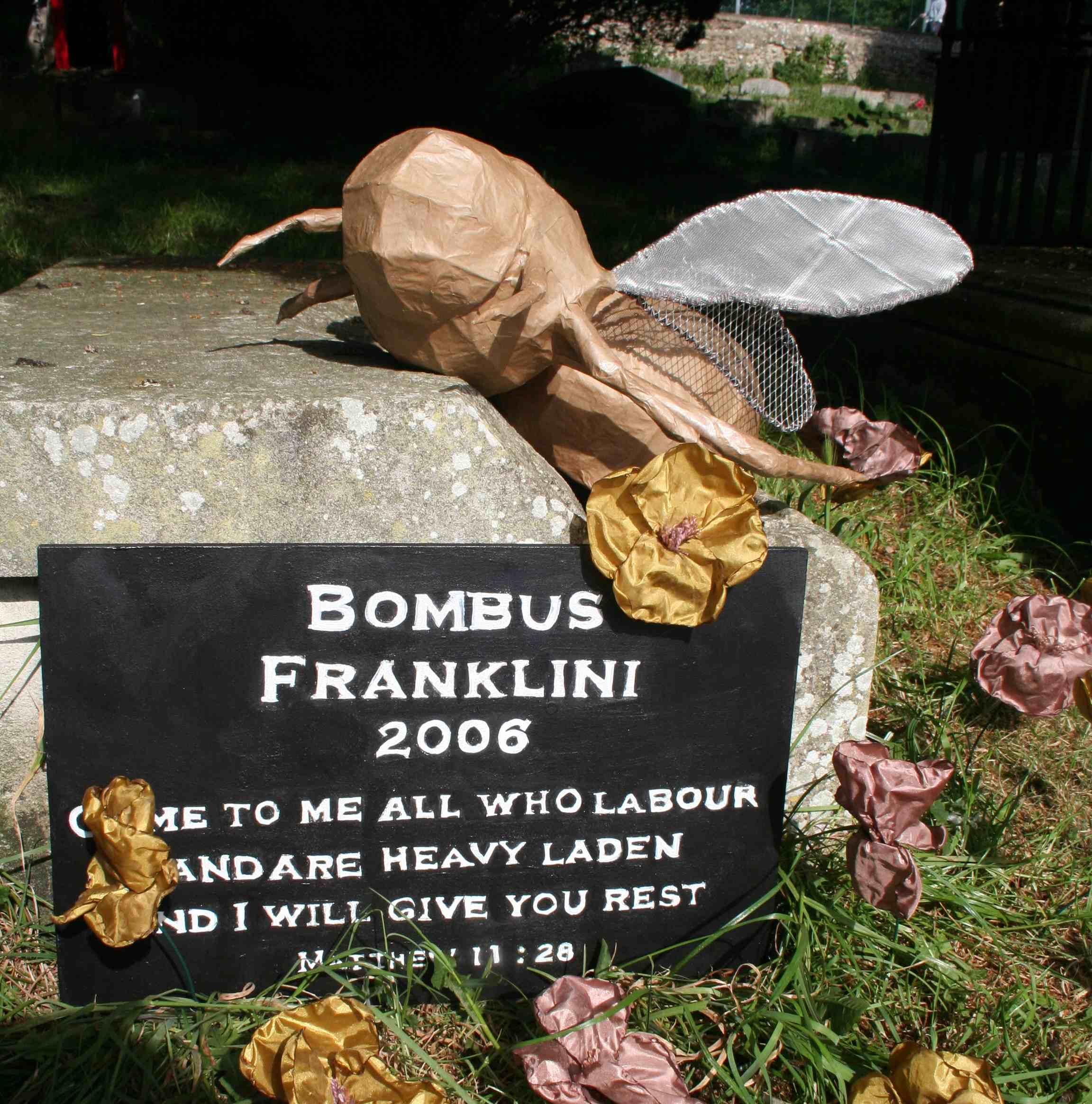 A memorial made by Eri Meacock
