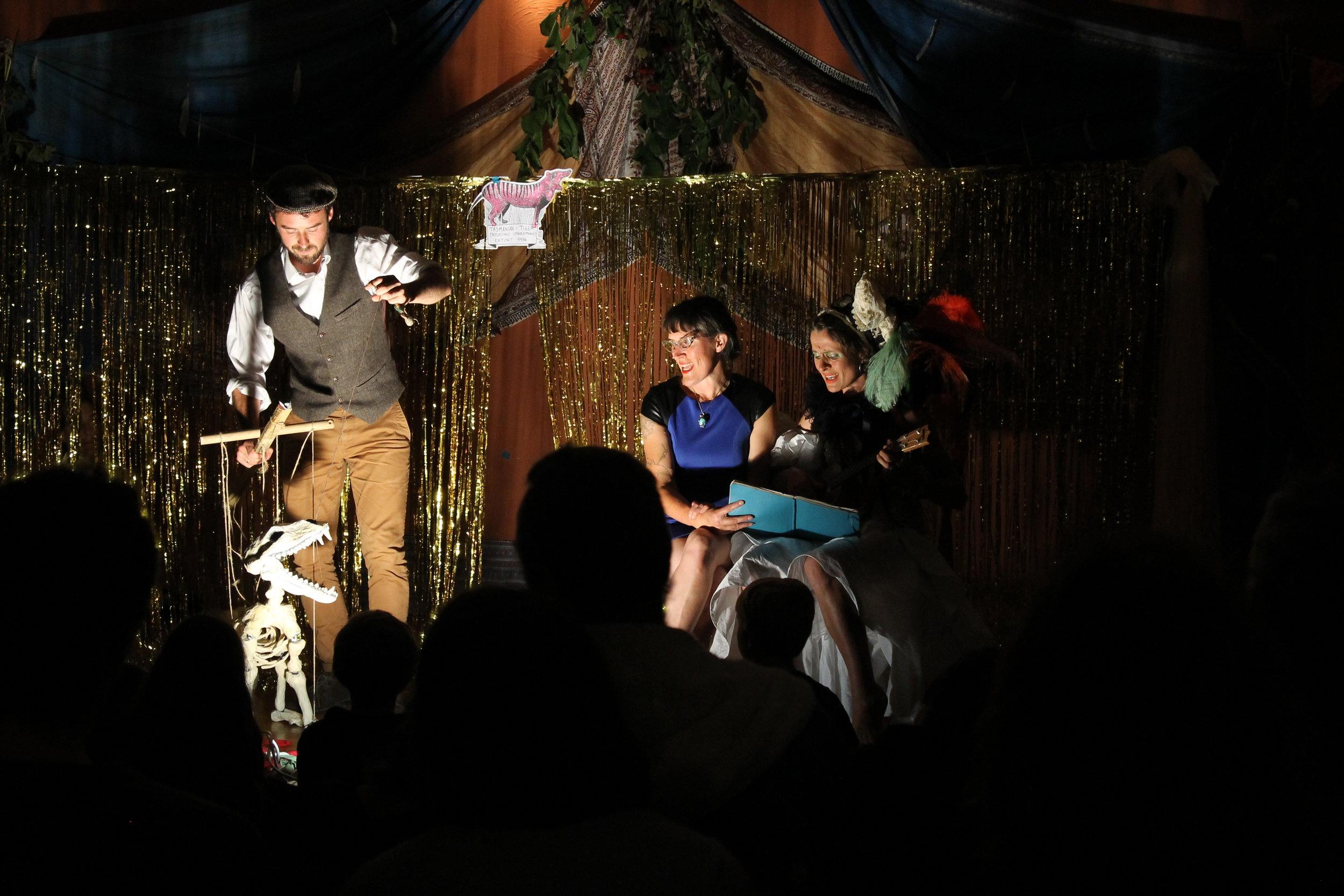 Feral Theatre's Thylacine Tribute Cabaret, September 2016.