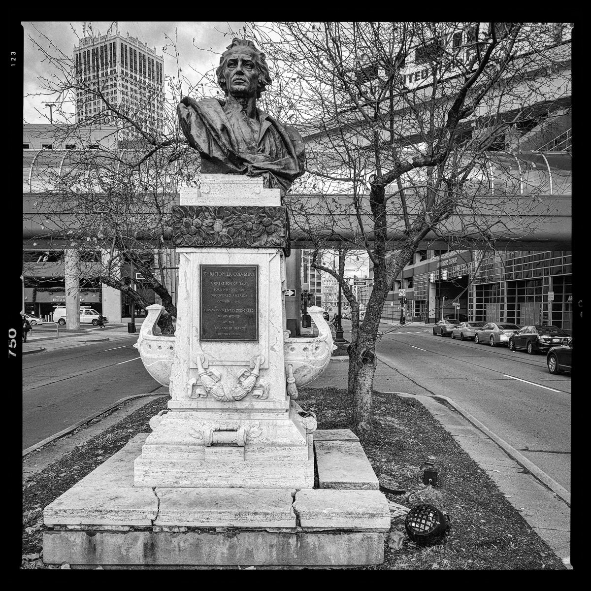 Christopher Columbus, Jefferson Ave. & Randolph Street, Detroit