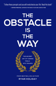 The Obstacle is The Way | Ryan Holiday   Perfect companion for a 30 day challenge.   See also  Meditations | Marcus Aurelius
