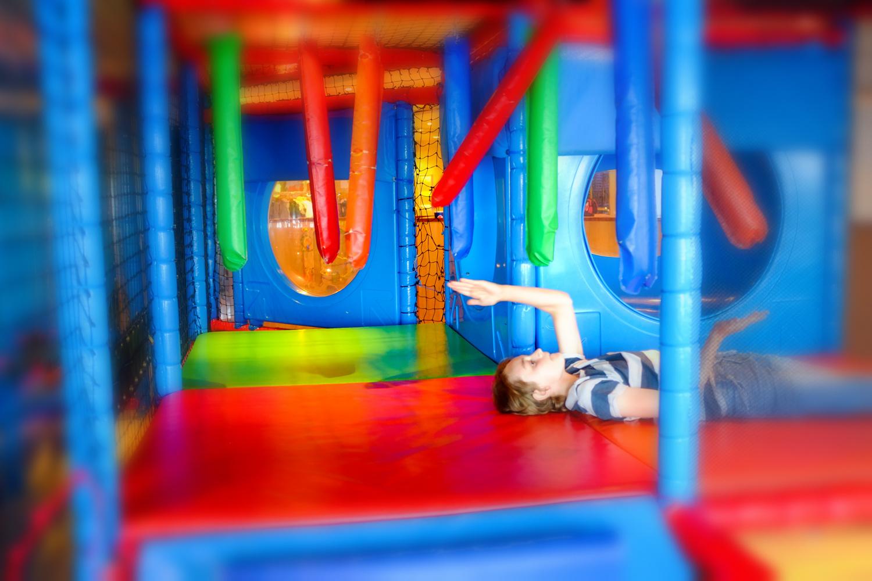 Et flott lekerom er alltid et populært innslag for barn på reise.