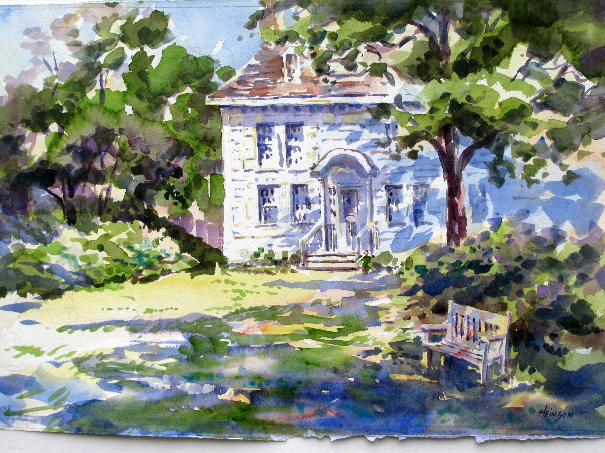 Rock Hall Watercolor