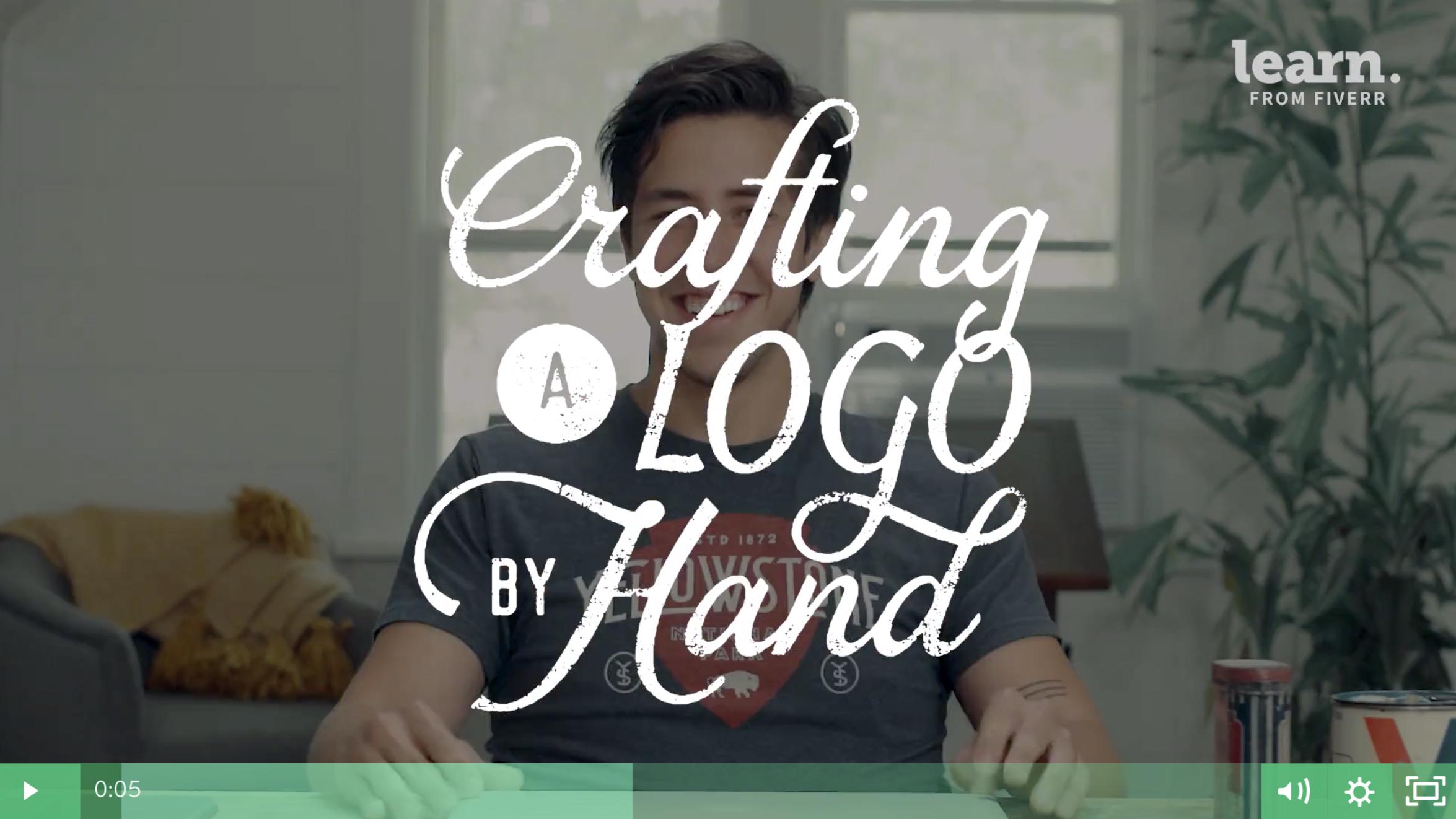 Nicolas Fredrickson Fiverr Hand Lettering Logo Course