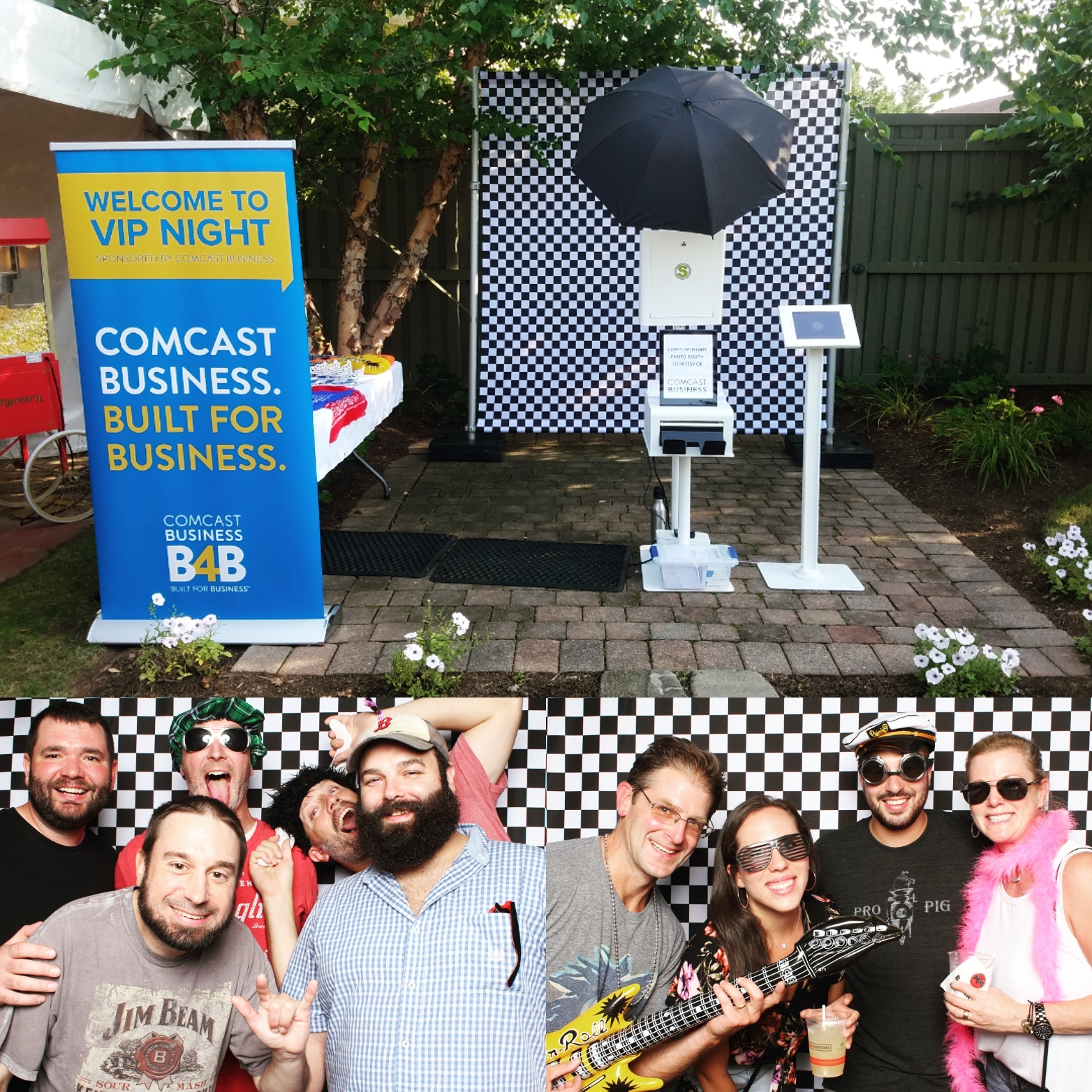SnapSeat Photo Booth - Comcast - Xfinity Theater VIP Hartford, CT