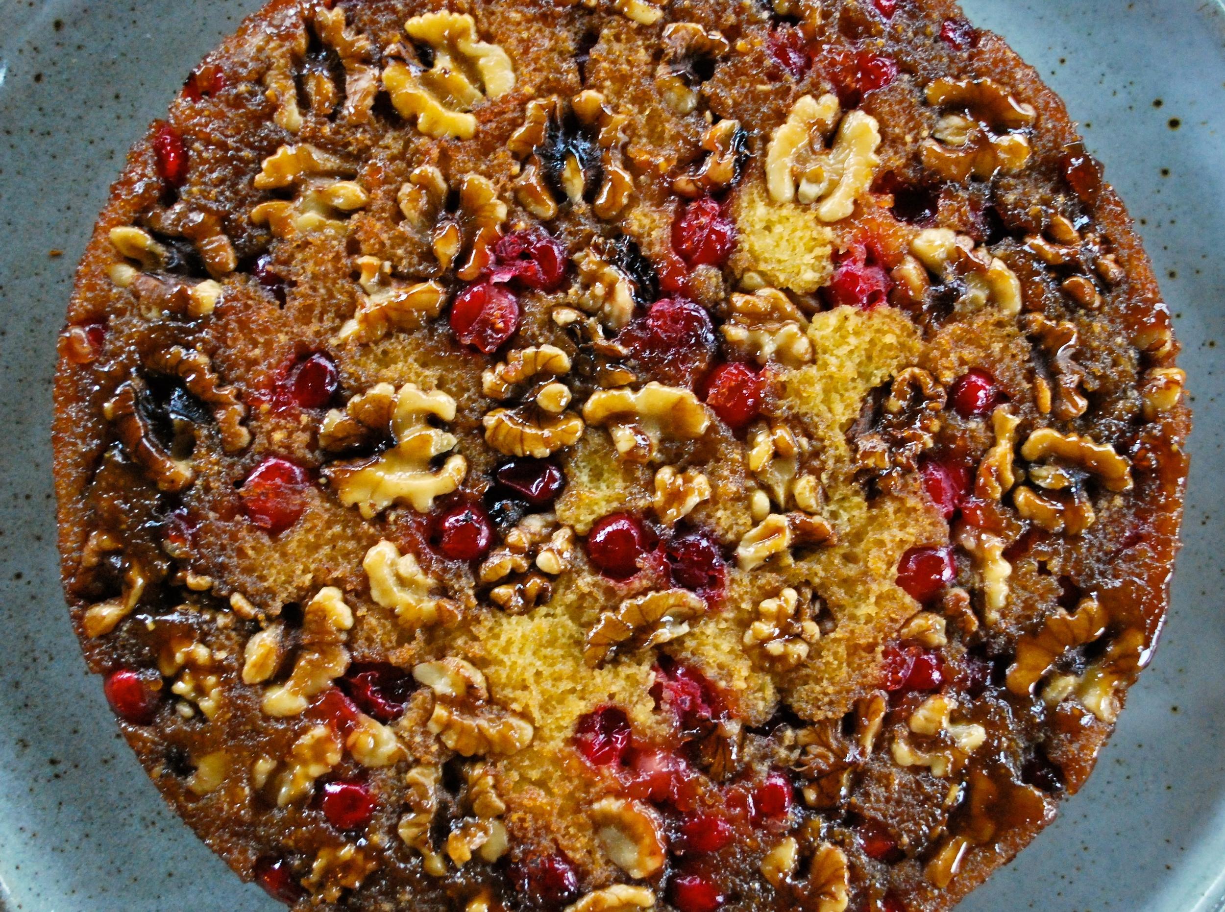 Organic Valley Cranberry Walnut Cake