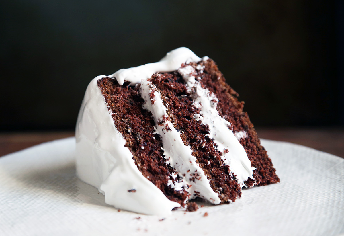 Chocolate Cake With Seven Minute Frosting 600 Acres