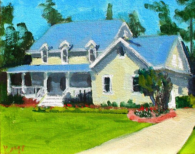 HARRISON HOUSE PORTRAIT