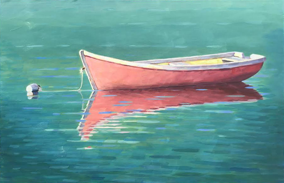 Tranquil Reflections |30 x 48 in. Oil on Canvas