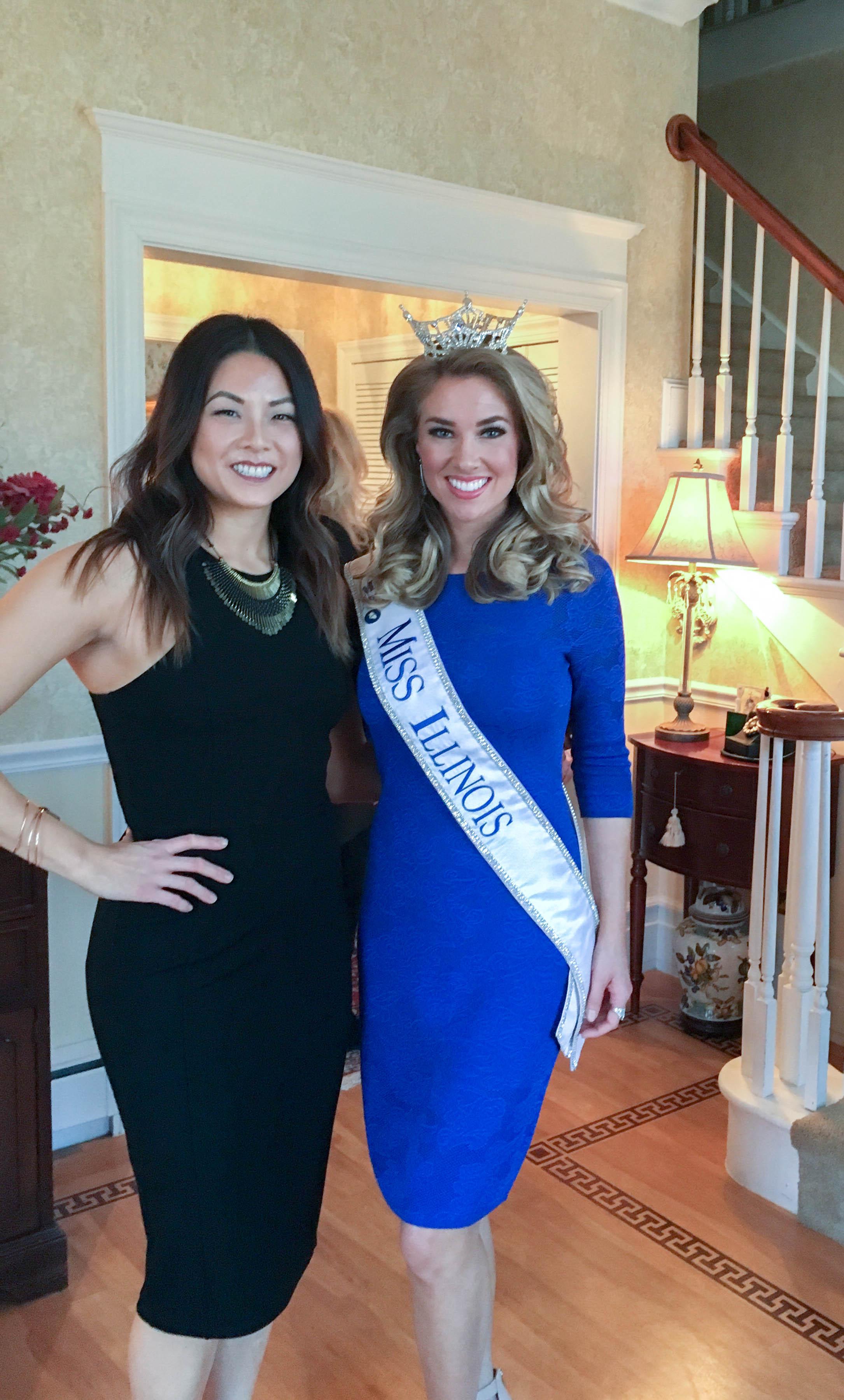 The stunning 2016 Miss Illinois, Jaryn Franklin.