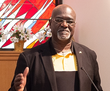 Pastor James Giles, Supervising Peacemaker