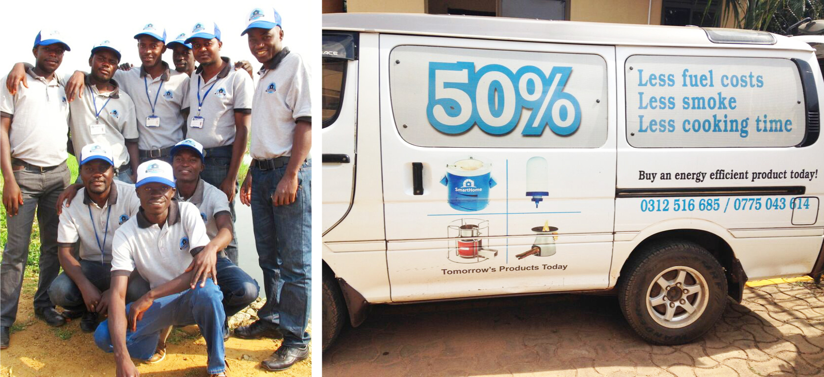 SmartHome Sales Team & Van