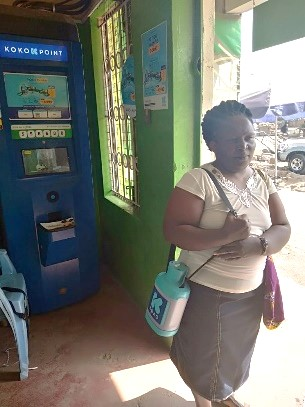 KOKO Customers receive a patented 'smart' fuel canister, which links to their account and provides easy transport and home use