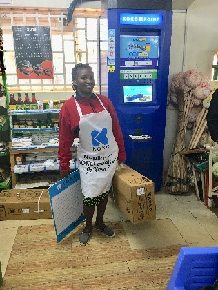 Consumers pick-up their stoves 24 hours after purchase, at their local KOKO Agent