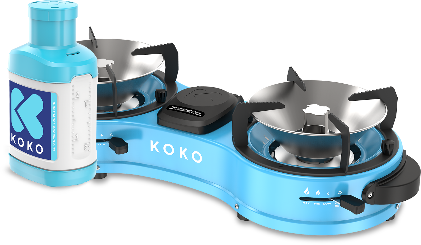 KOKO's stove and canister combination