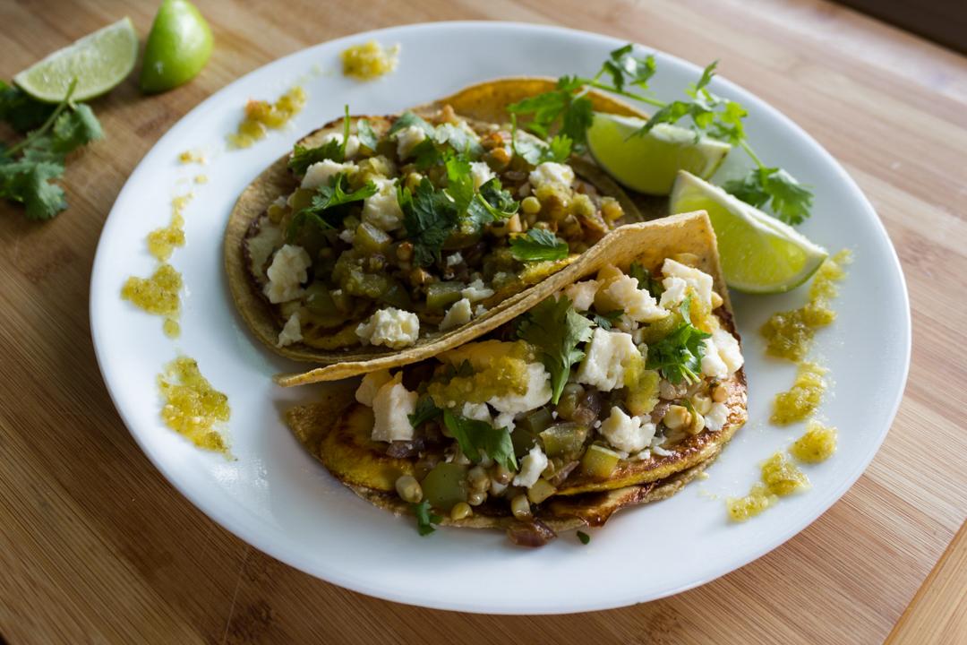 Summer Squash Tacos