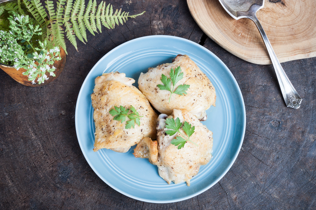 Baked Chicken with Fresh Herbs