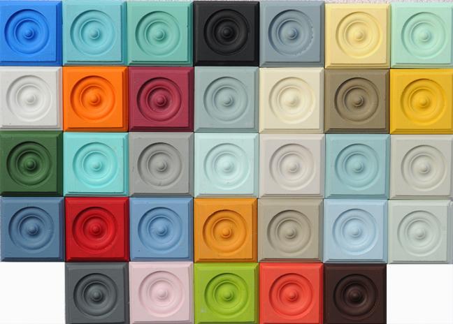 Color Pallet Tiles