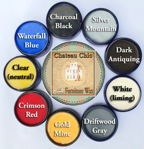 "We have 9 colors of wax.  Our wax is ""All Natural"" Odor free and Zero VOC.  No petroleum distillates or harsh chemicals."