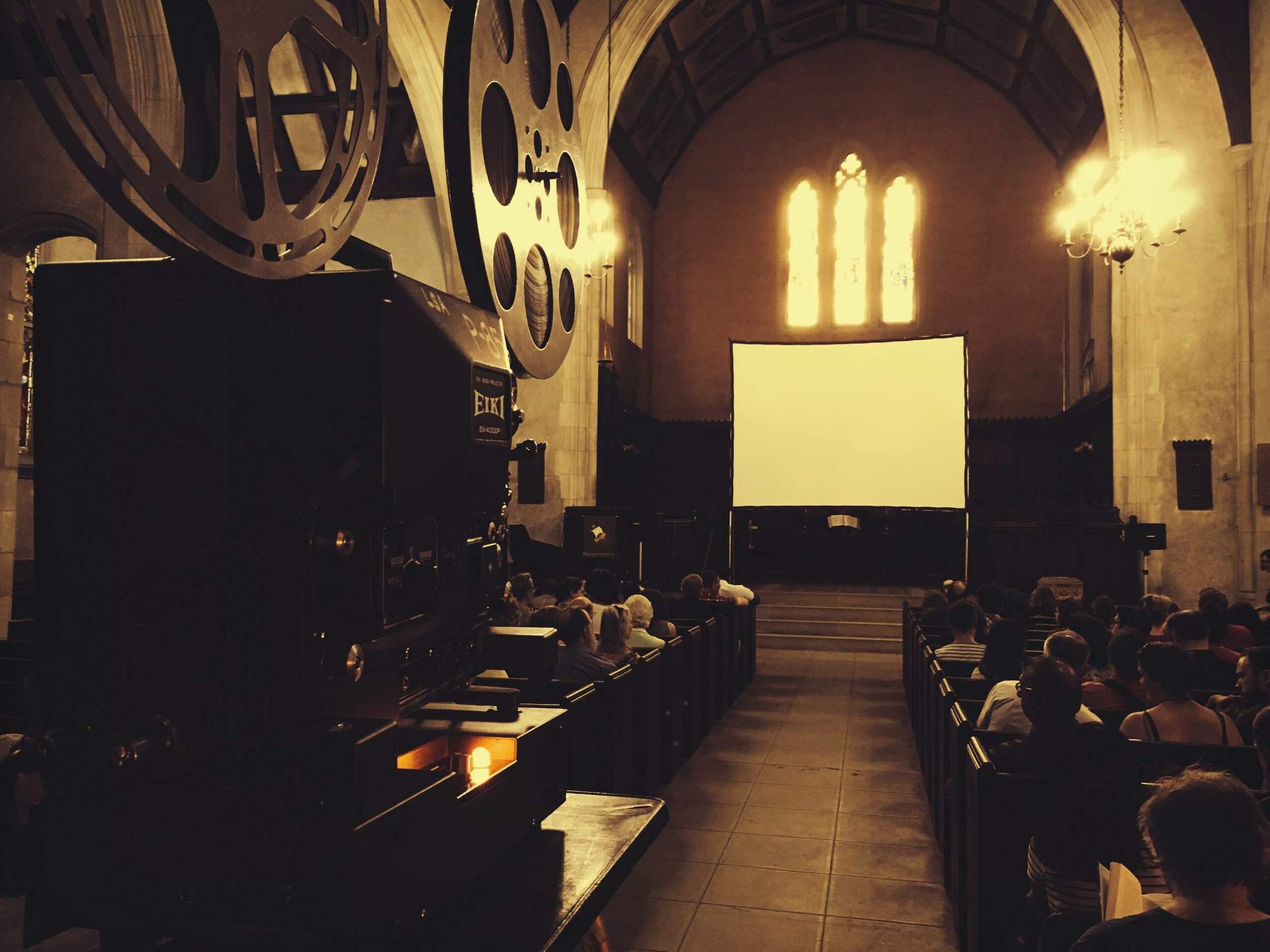 At the WPUC church, Montréal.