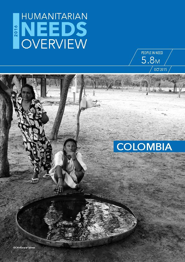 Humanitarian Needs Overview - COLOMBIA