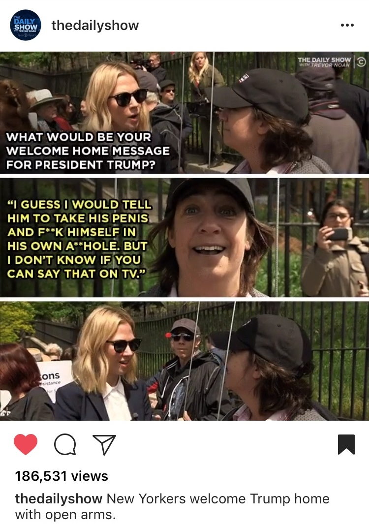 Daily Show Interview Meme - The memester gets meme'd! I heard from everyone I've ever known in my life.