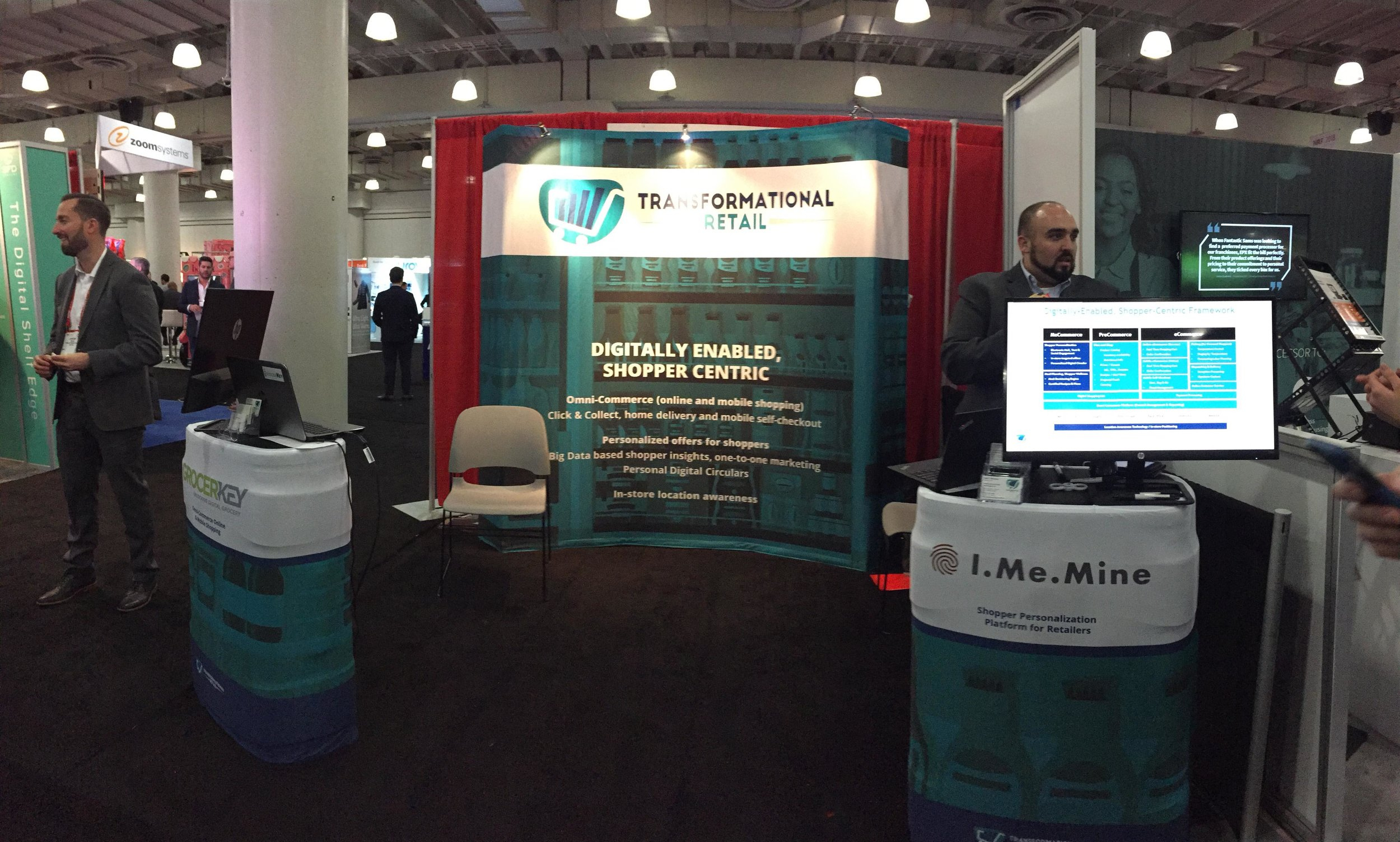 Transformational Retail booth at NRF2018