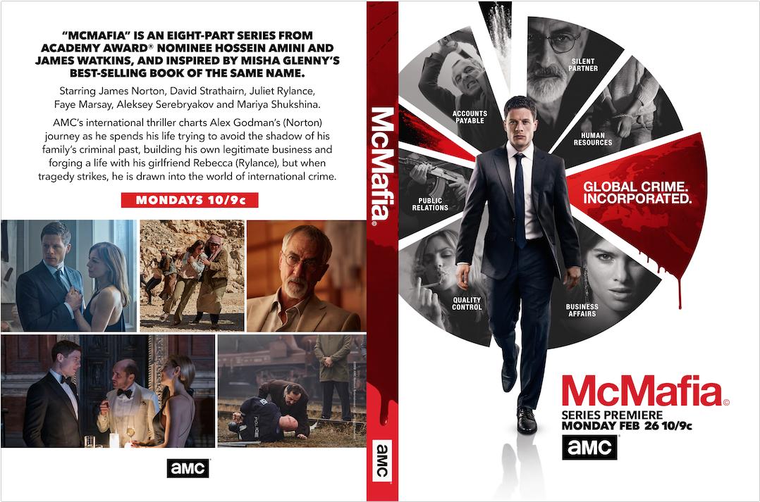 McMafia DVD case