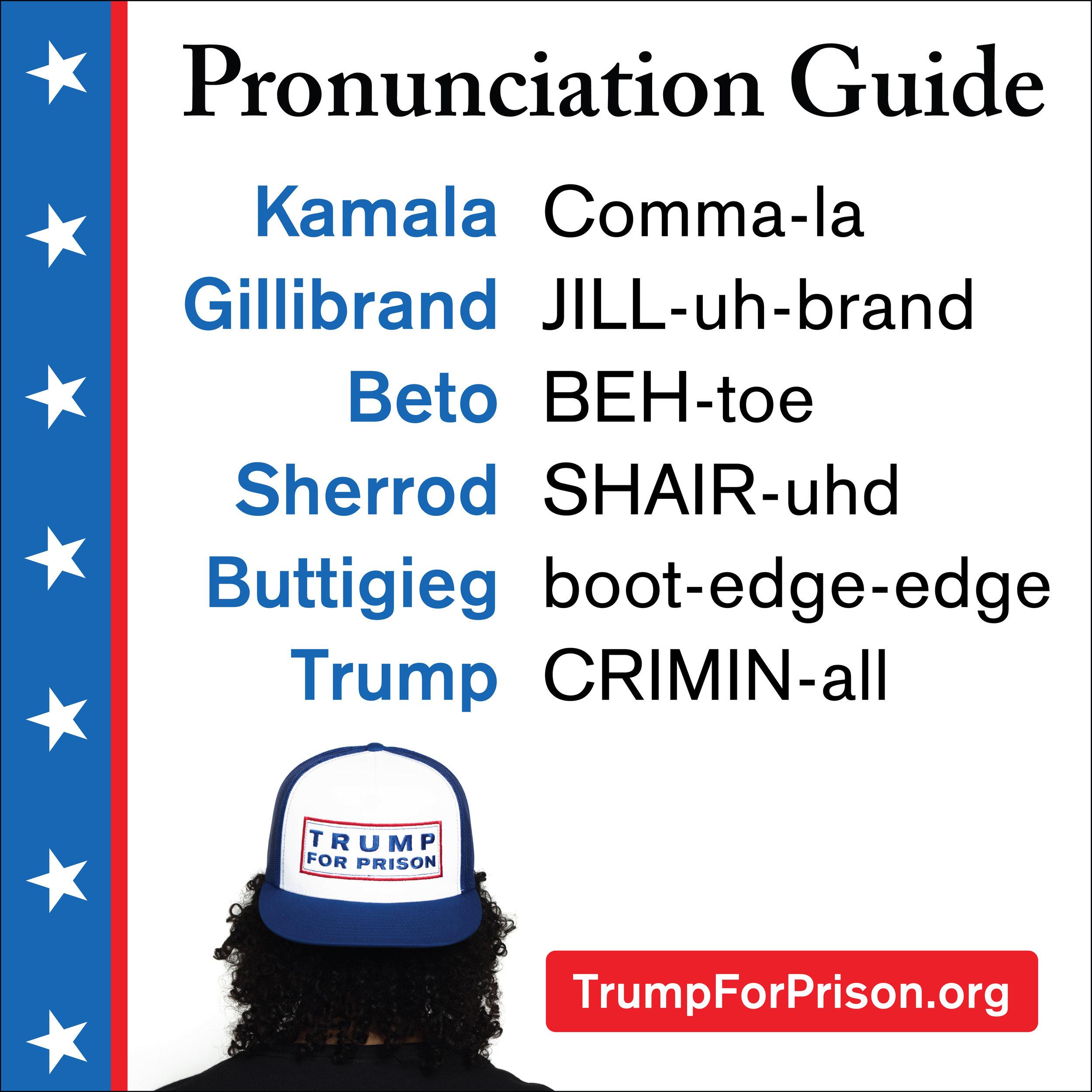 Handy Pronunciation Guide