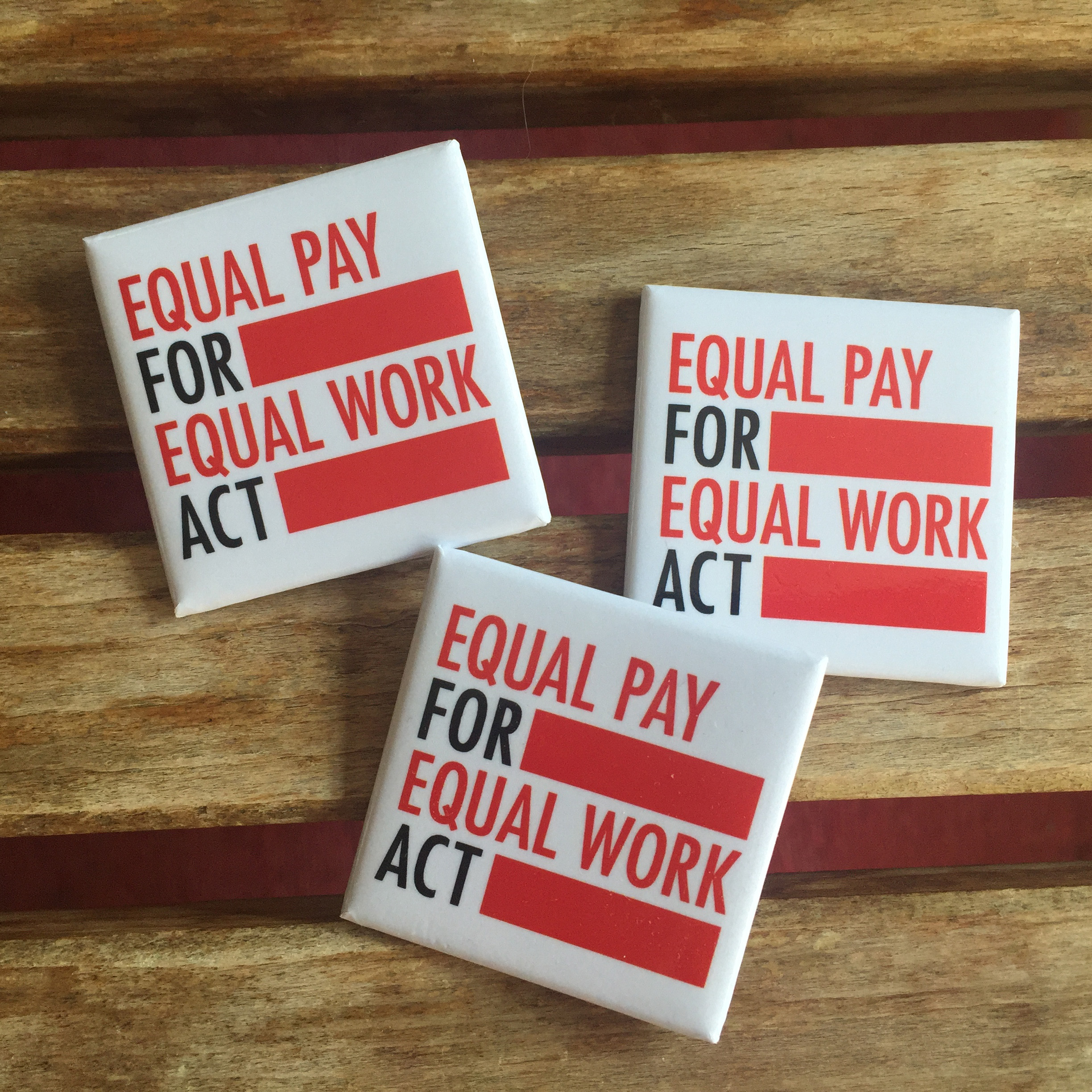 Equal Pay For Equal Work Act LOGO