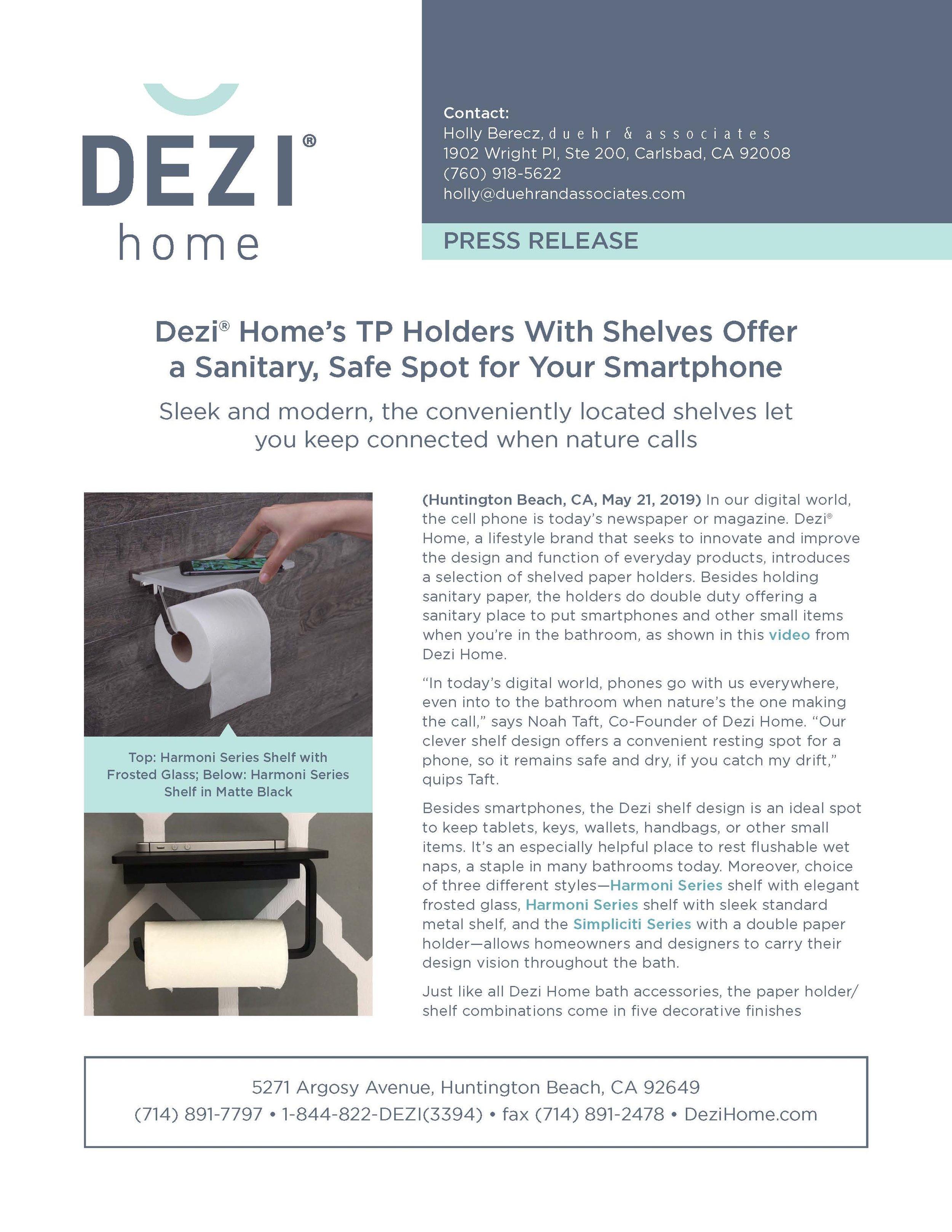 Dezi Home Press Release