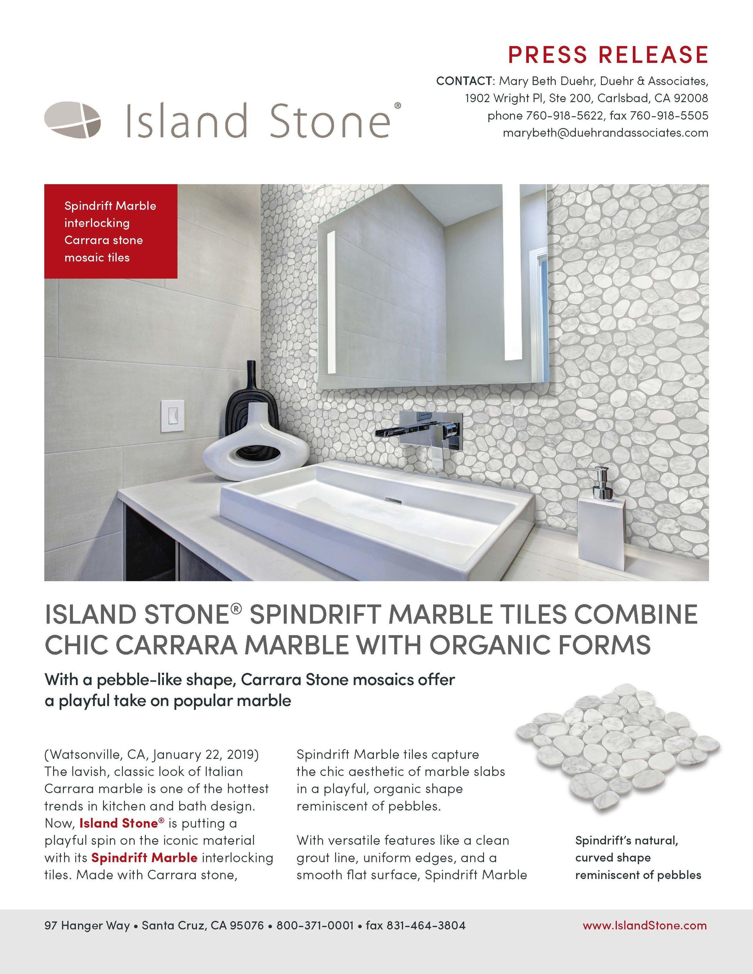 Island Stone Press Release