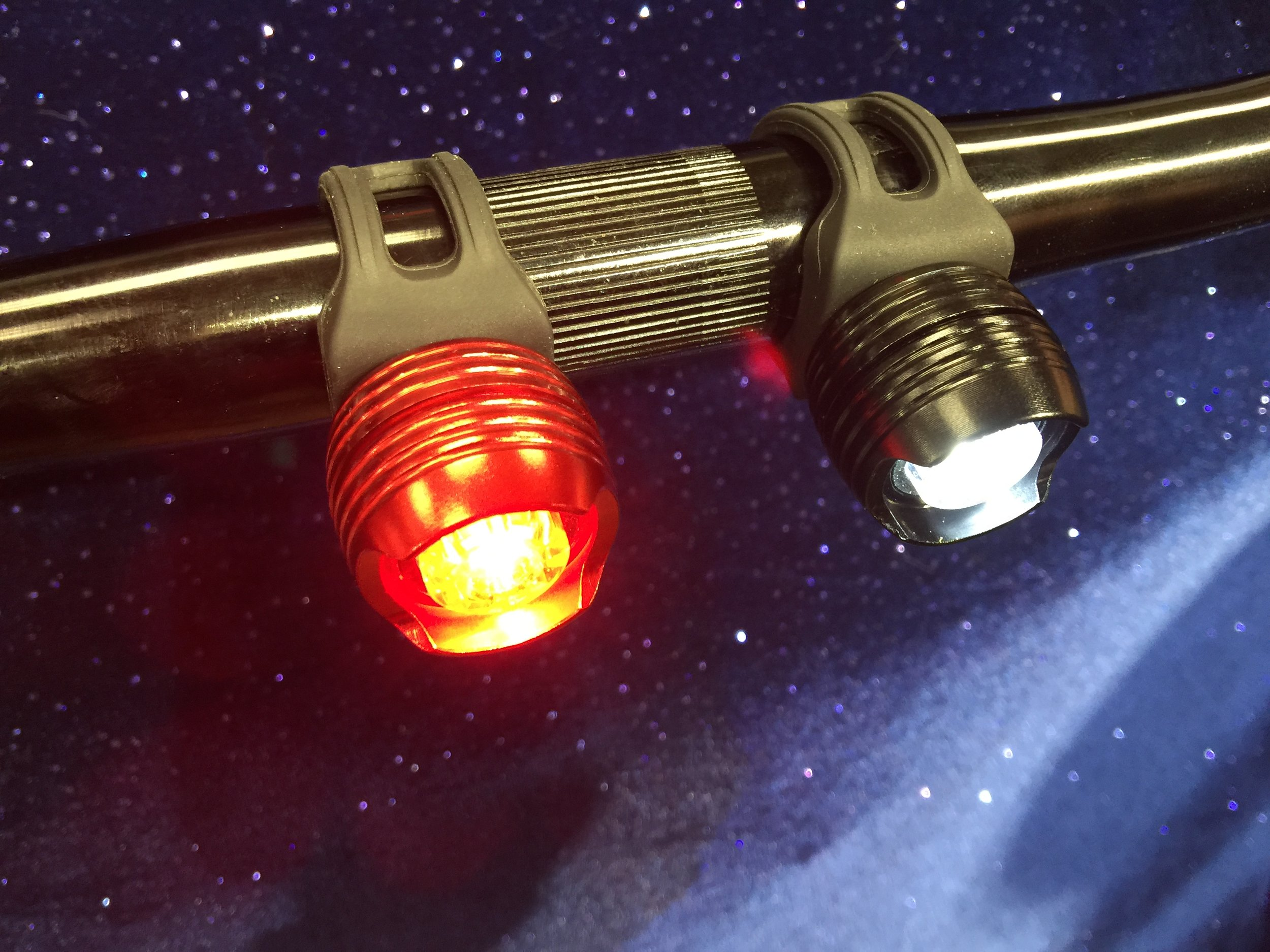 $10  F or R  Lights for your bicycle