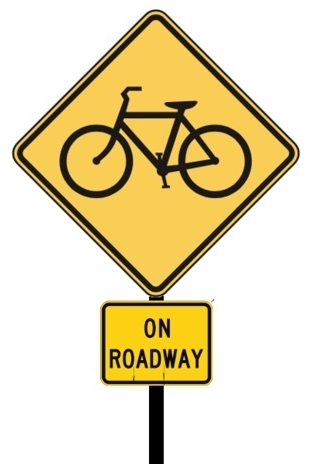 "Oregon has replaced ""Share the Road"" with this message."