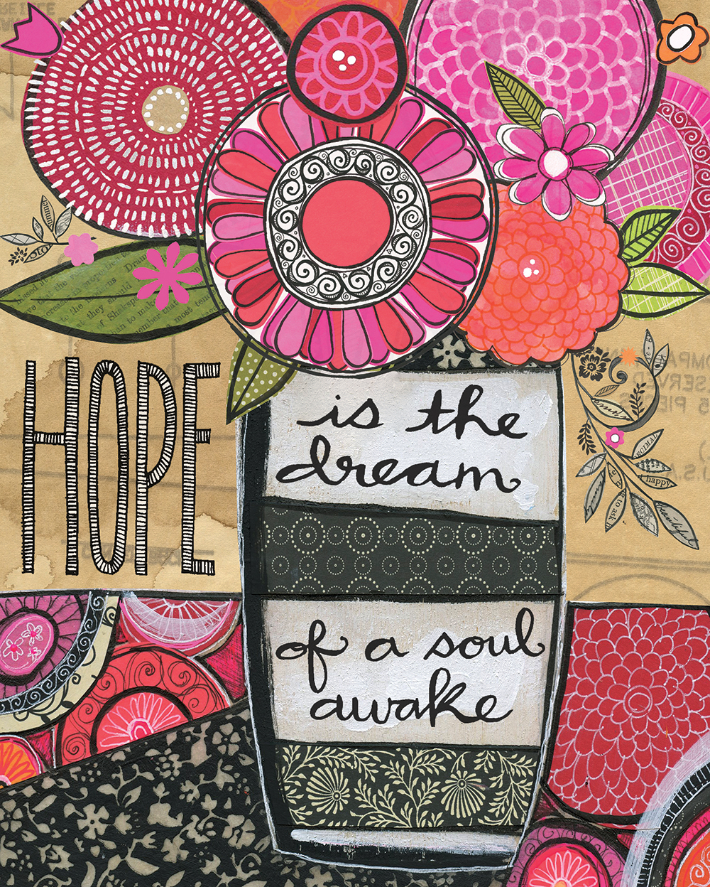 """Hope is the Dream"" © 2014  Susan Black"